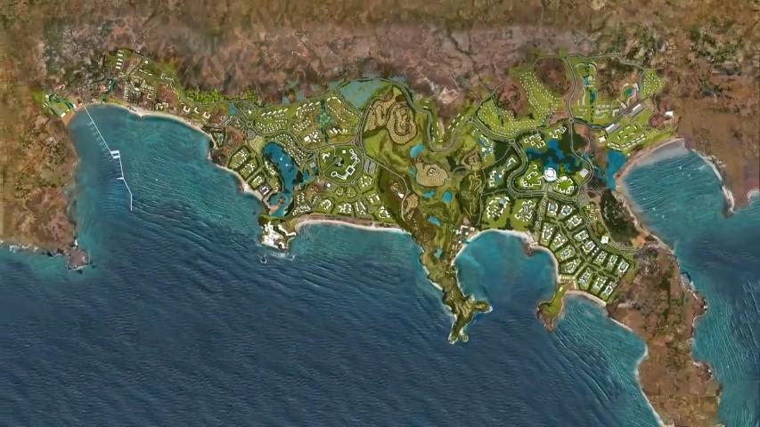 Mandalika Project Map