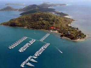Marina del Rey in Lombok