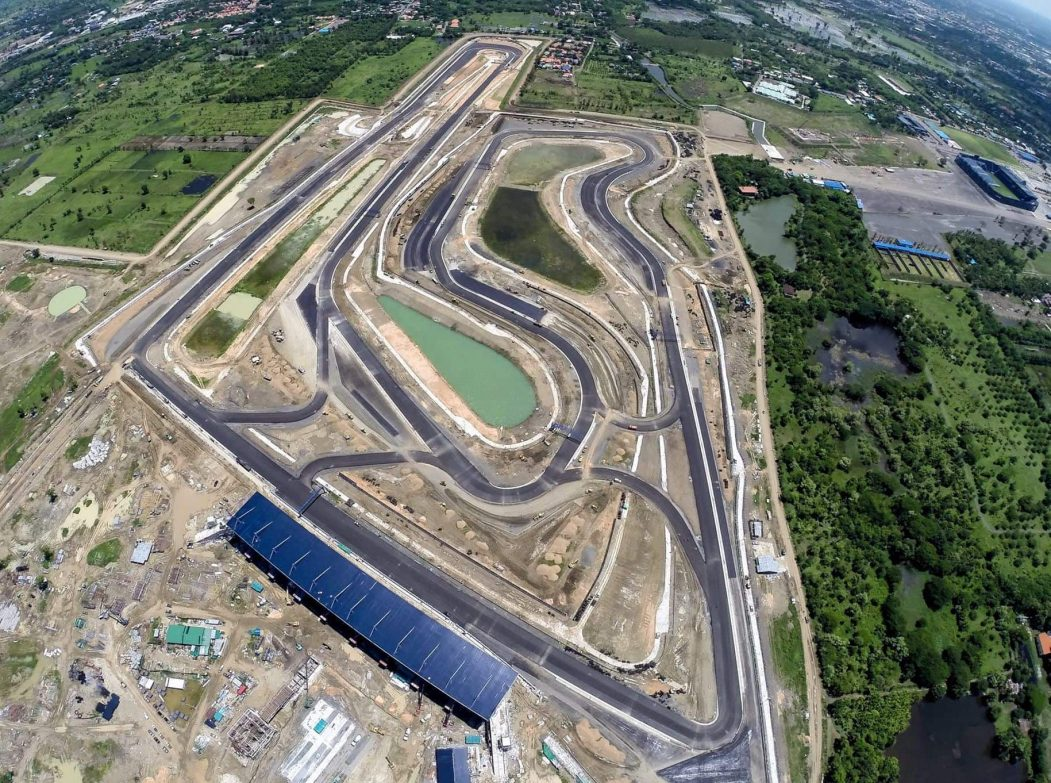 Scheduled Grands prix calendar until 2021 for The Indonesian MotoGP circuit in Lombok