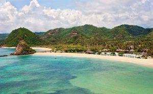 Lombok hot tourist spot