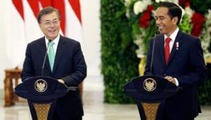 Jokowi in Korea