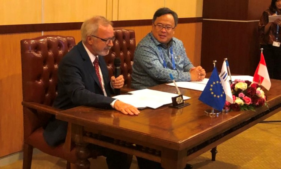 Indonesia and the European Investment Bank (EIB) signed an MoU on green infrastructure development