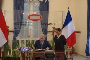 france and Indonesia bilateral ties