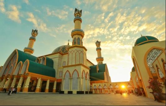 Lombok mosque