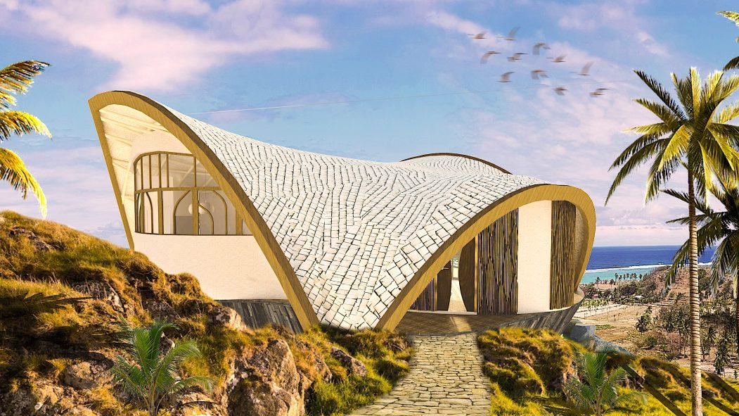 Eco-luxury villas on sumba island