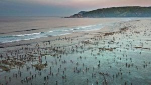 Mandalika beach