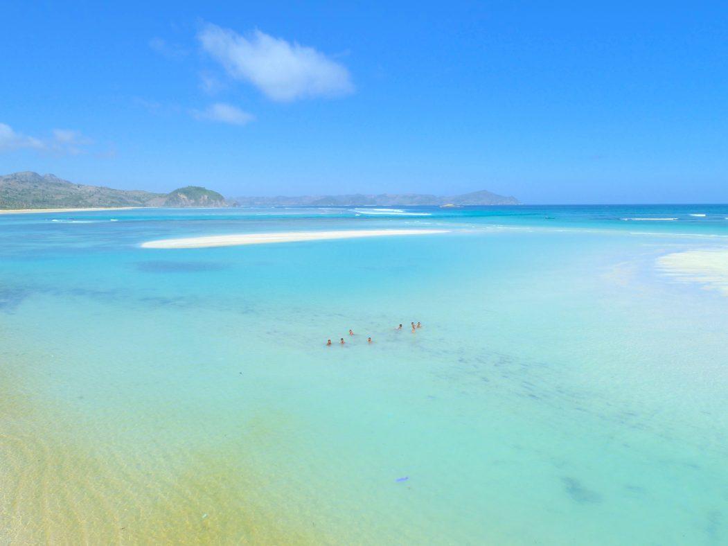Indonesian beach paradise Mandalika