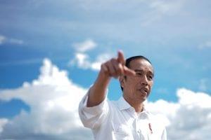 Jokowi in Bali