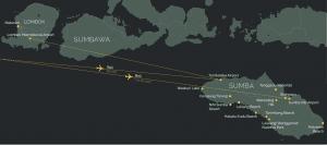 Sumba Island Map