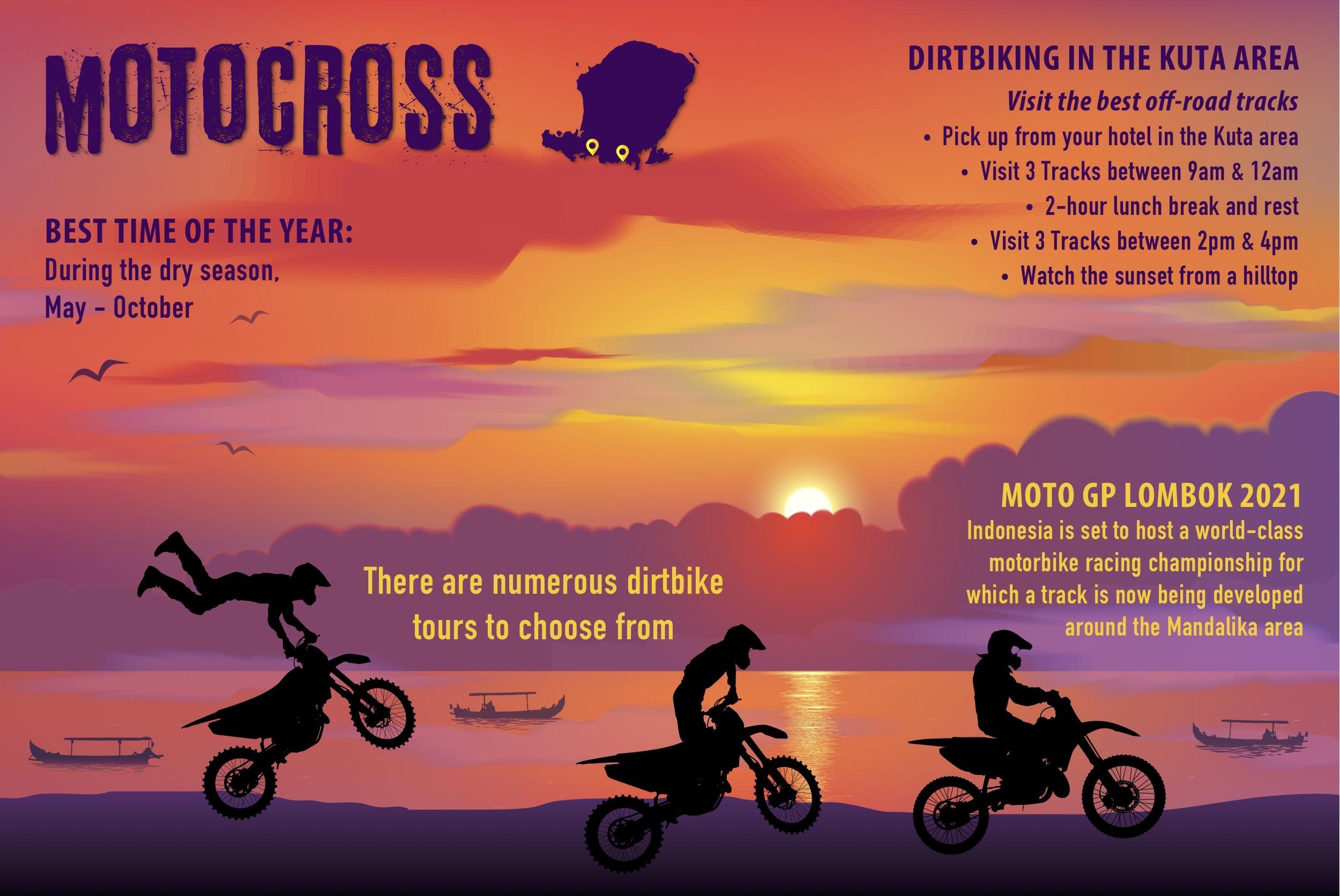 Motocross in Lombok