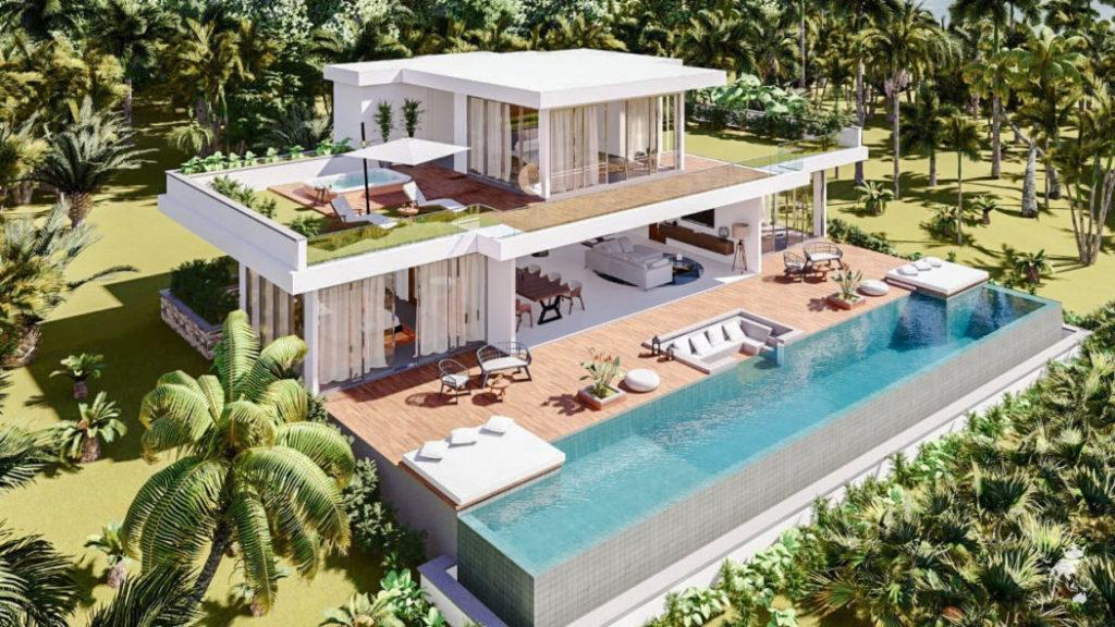 luxury residences in Lombok island
