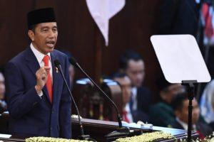 Jokowi at DPR
