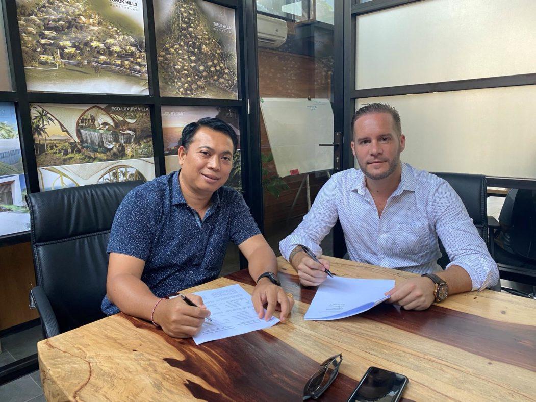 Tunas Jaya Sanur & Invest Islands signing MoU