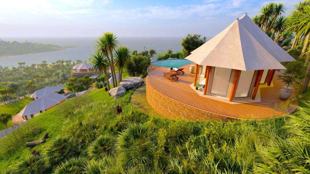 Awang glamping tents