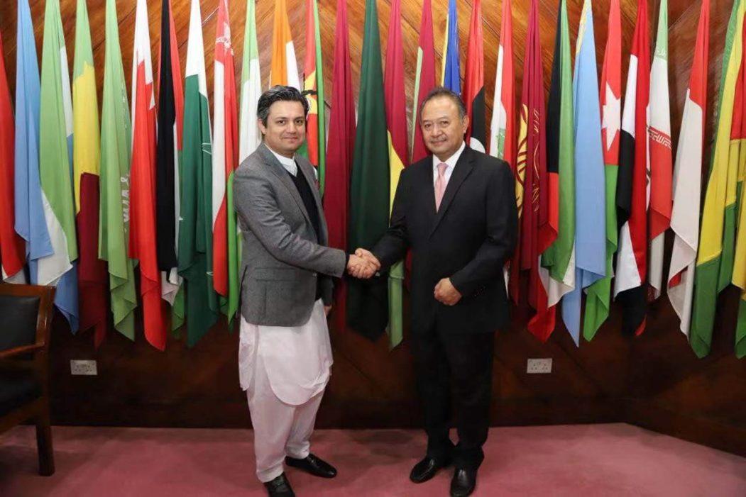 Luky Eko Wuryanto and Hammad Azhar AIIB
