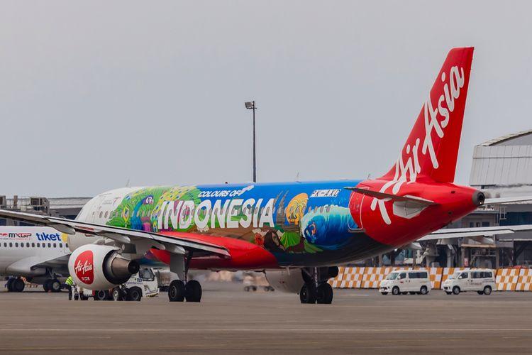 AirAsia flight in Indonesia