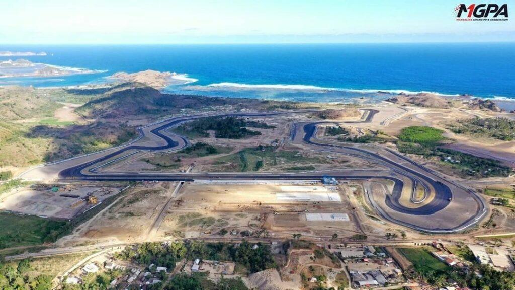 Infrastructure on Mandalika circuit